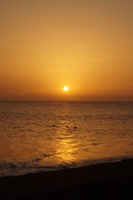 Das Foto wurde mit Hilfe von Langzeitbelichtung aufgenommen am Strand von Taurito.
