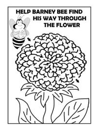 maze flower