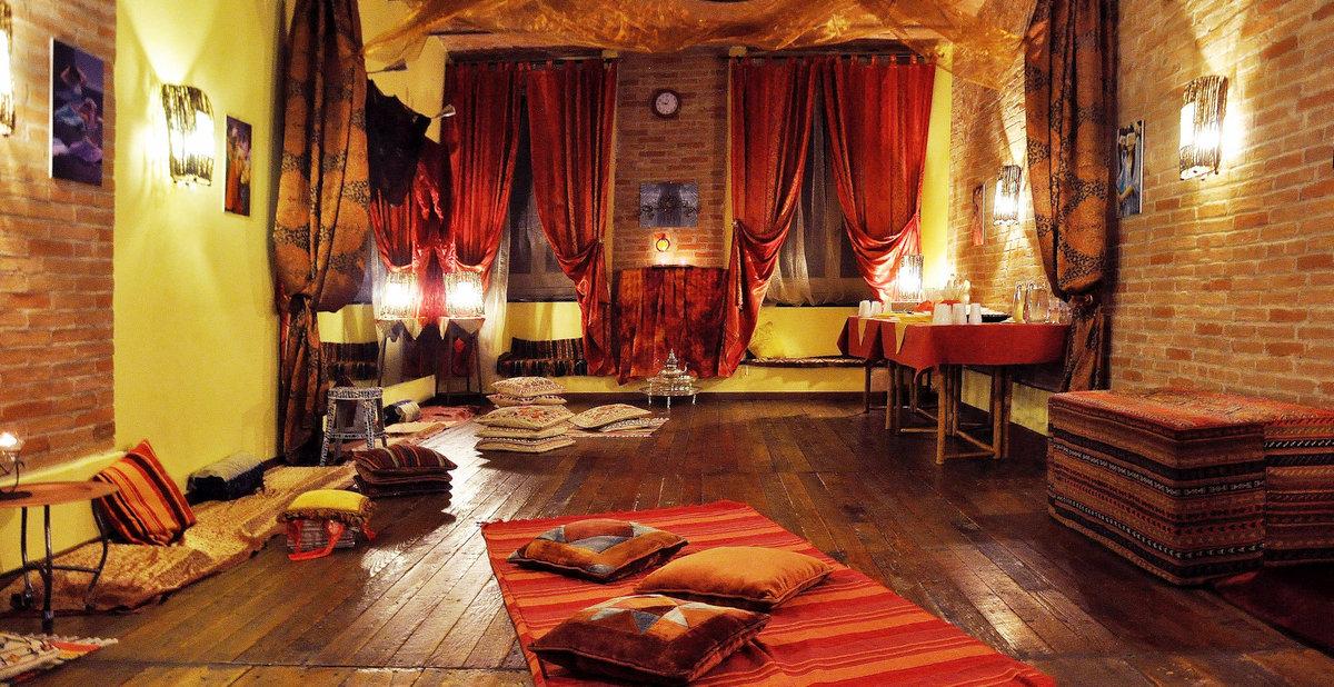 sala per feste e cene hammam e bagno turco genova