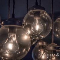 Homemade Chandelier with Irregular Globe Lighting