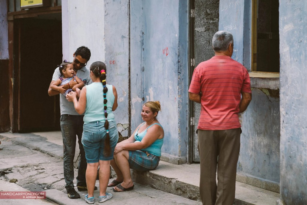cubans on the streets of havana