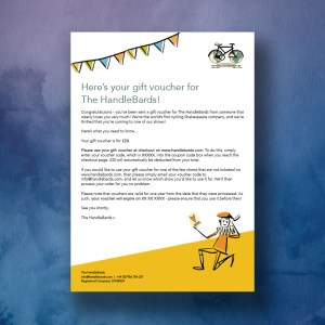 HandleBards £20 Gift Voucher