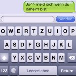 SMS am iPhone