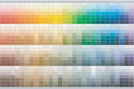 Benjamin moore paint chart