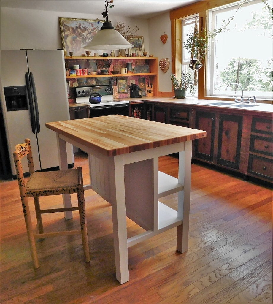 Encouragement This Kitchen Island Would Be Almost Any From To You Can Order It To Fit Specifications Andeven Have Custom Kitchen Islands Nc Handyman Llc houzz 01 Custom Kitchen Islands