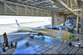 Første Airbus A350-1000 tar form
