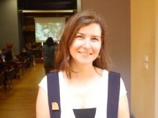 Η Καλλιόπη Πανδή Πολιτικός Μηχανικός - Μέλος της ομάδας ΠηλΟίκο
