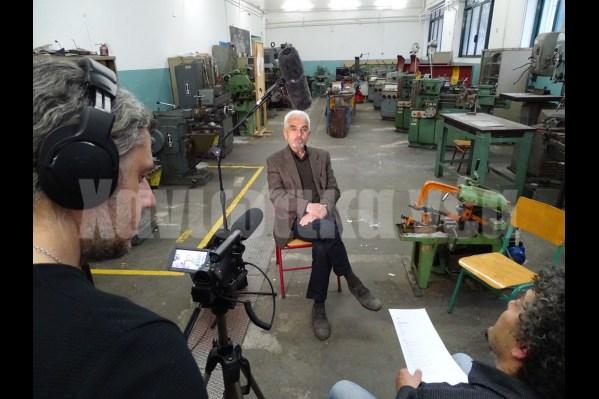 """Συνεντεύξεις στο πλαίσιο ενός ντοκιμαντέρ για τον """"Δαίδαλο"""" και την ιστορία του από το """"Εσπερινό ΕΠΑΛ Χανίων""""."""
