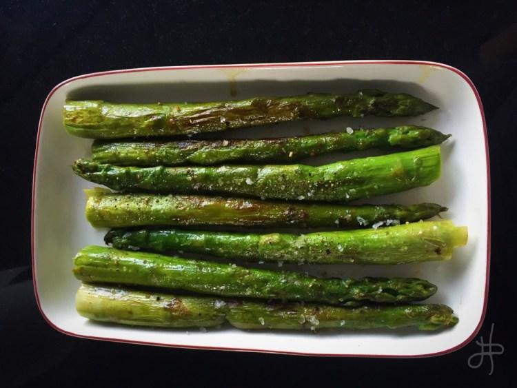 Smjörsteiktur aspas – frábær sem meðlæti eða forréttur
