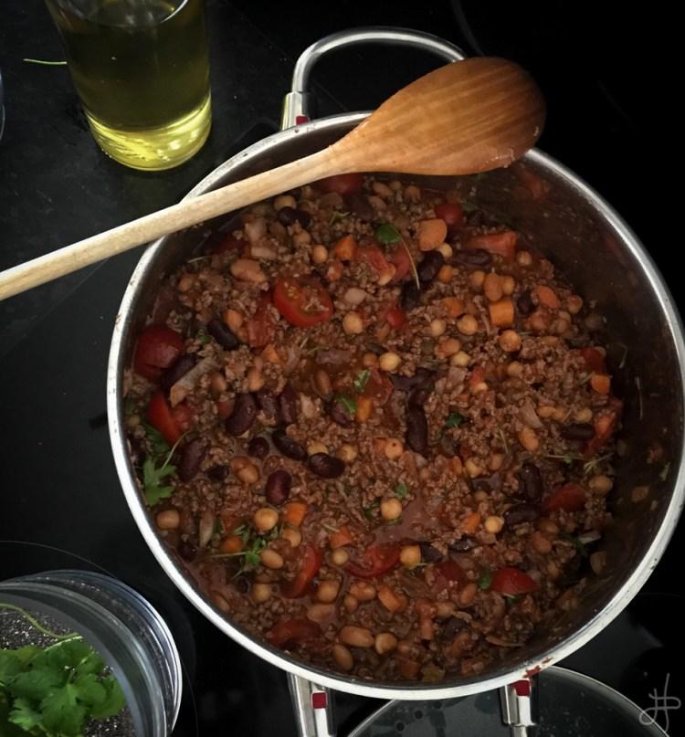 Chili con carne – einfalt og gott