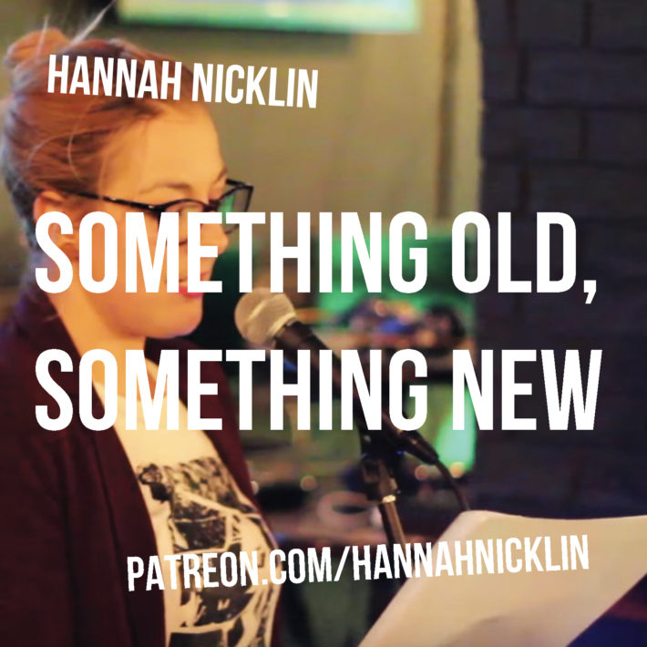 Something old something new header image - hannah nicklin