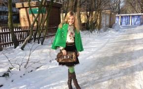 Juicy Couture jacket & Braccialini bag