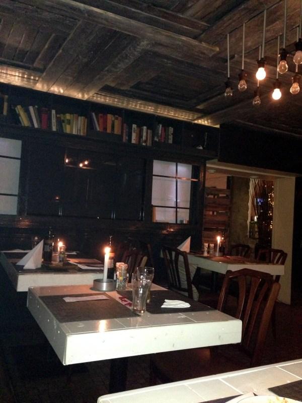 Meteora restorant & Swarovski brooch
