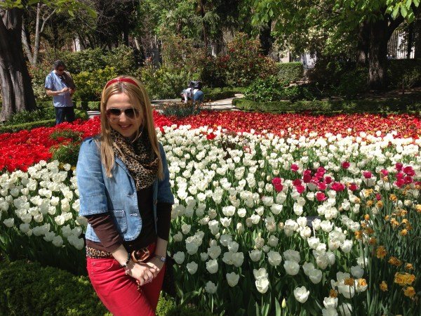 The Royal Botanical Garden of Madrid & D&G scarf