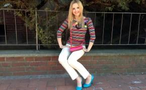Blumarine pants & Sonia Rykiel shirt