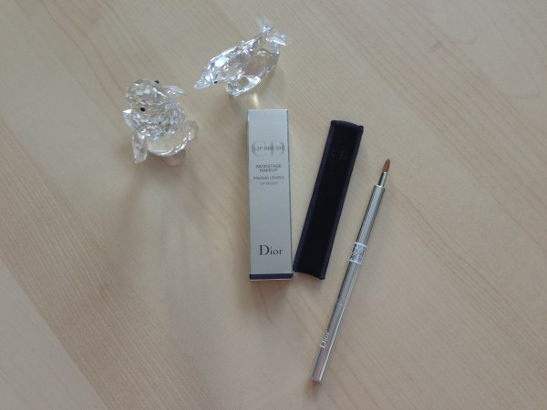 Dior retractable lip brush