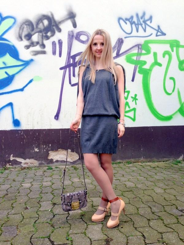 Miss Sixty dress & MICHAEL Michael Kors bag