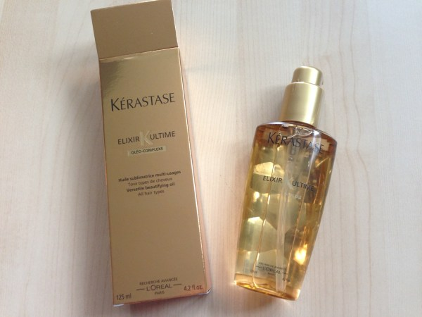 Kerastase Elixir Ultime shampoo, masque and oil