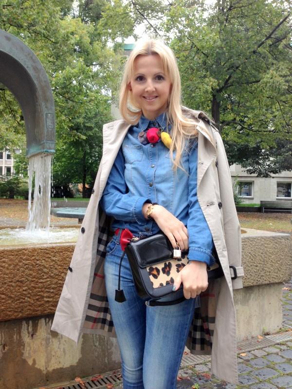 Ab Asia Bellucci bag & Love Moschino belt