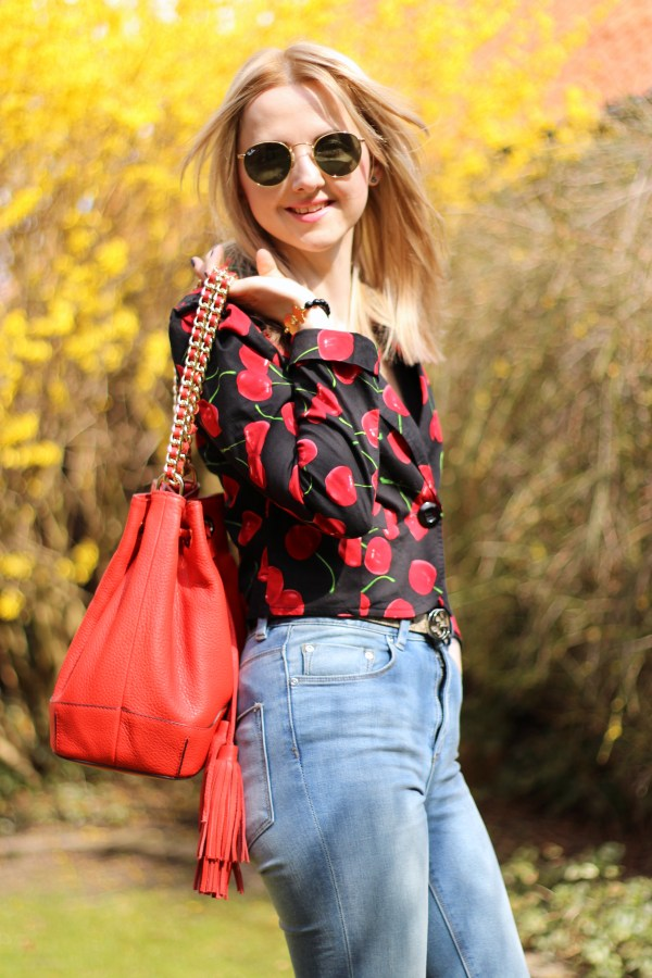 Ray-Ban Sonnenbrille & ASOS Jeans
