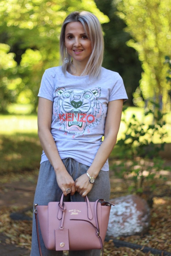 Gucci Swing Tasche, Kenzo T-Shirt, Modeblogger aus Hannover