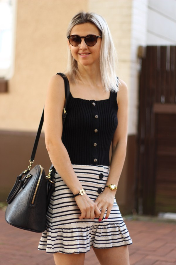 Gucci Tasche, Urban Outfitters Top, ASOS Rock, Modeblogger, Fashion Blogger