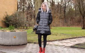 Modeblogger aus Hannover, Moncler Mantel