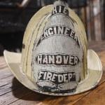Hanover FIre Dept Engineer Helmet from 1800's