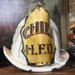 Hanover FIre Co #1 Chief helmet