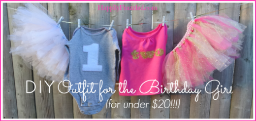 DIY Birthday Girl Outfit | HappilyFrazzled.com
