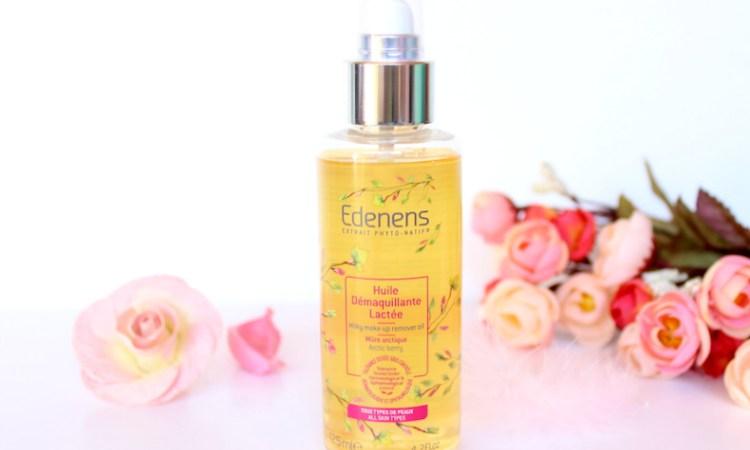 L'huile démaquillante by Edenens : Mon avis.