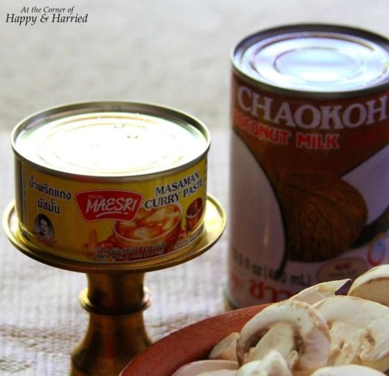 Thai Massaman Curry {With Mushroom, Peppers, Eggplant ...