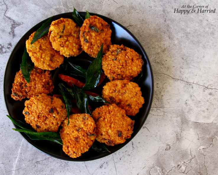 Deep-fried spicy lentil fritters are a favorite snack not just at ...