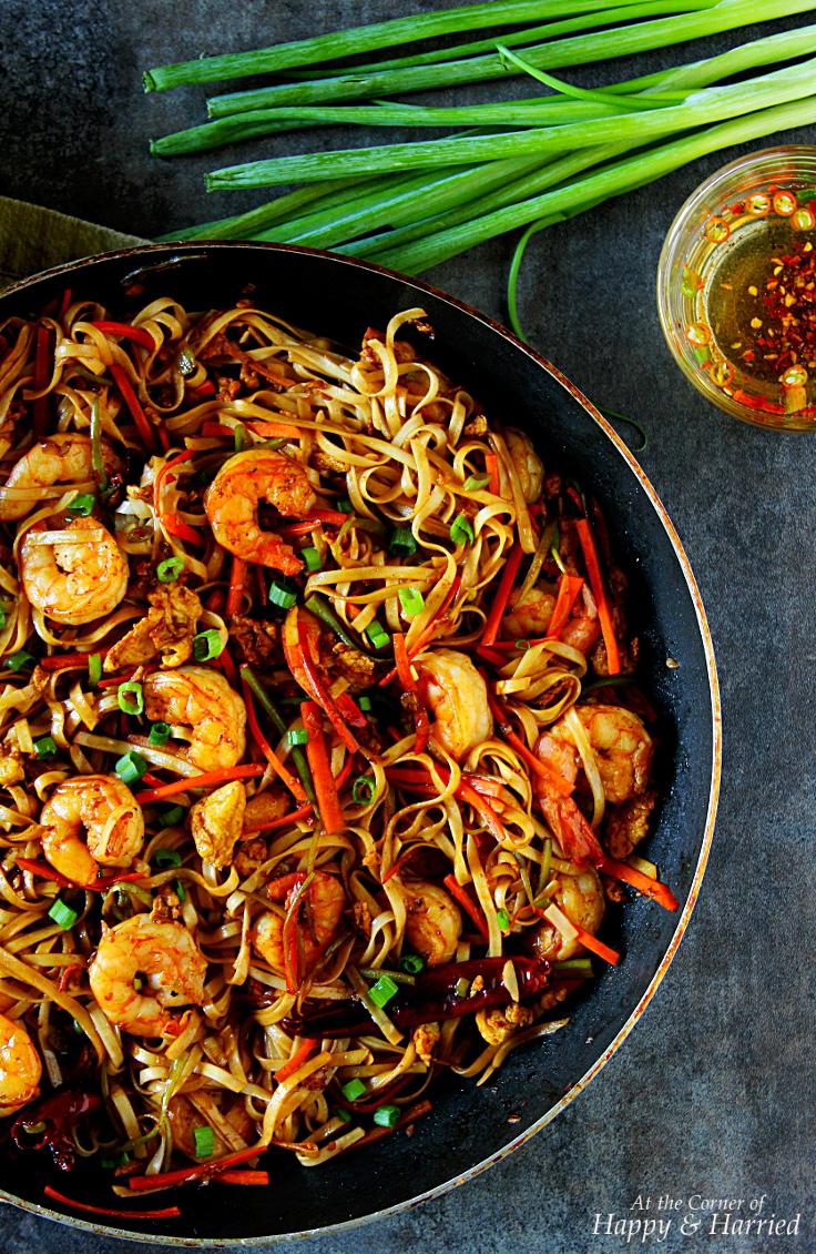 Shrimp Hakka Noodles