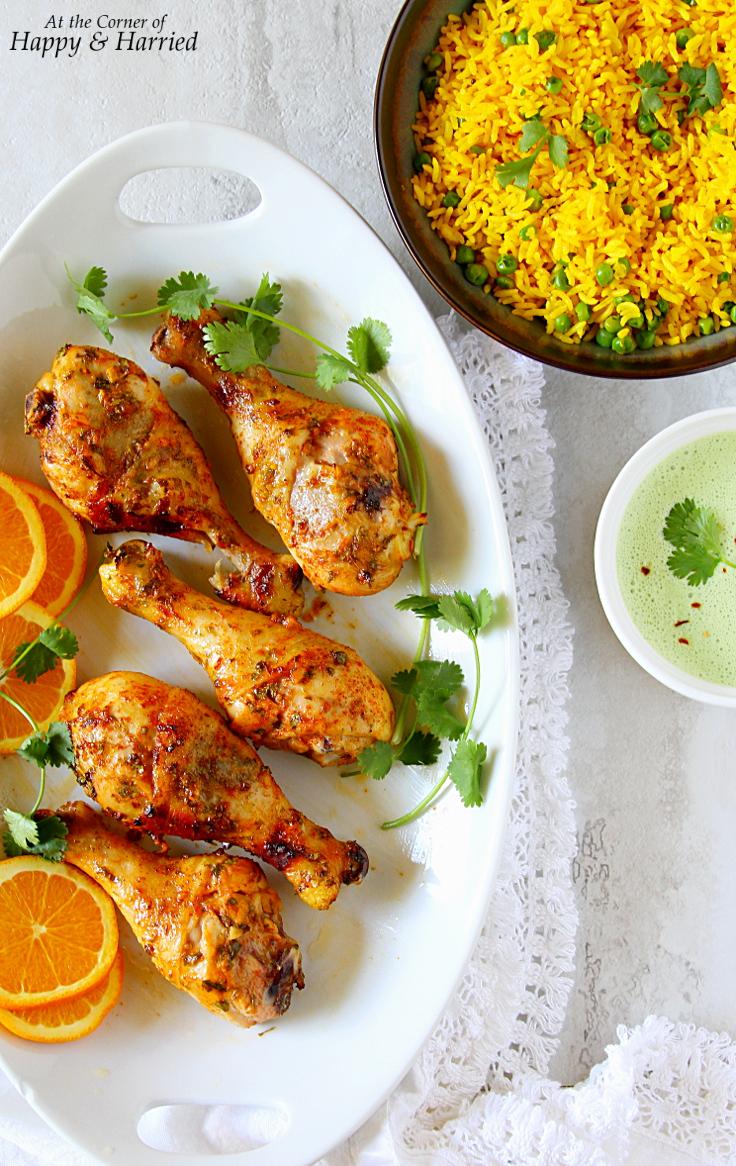 Cilantro-Orange Roasted Chicken