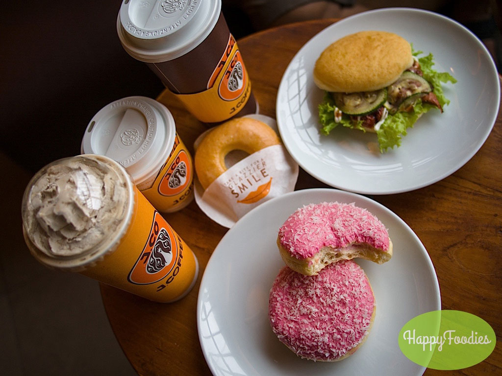 Catching Up with J.Co Donuts and their Tropical Treats