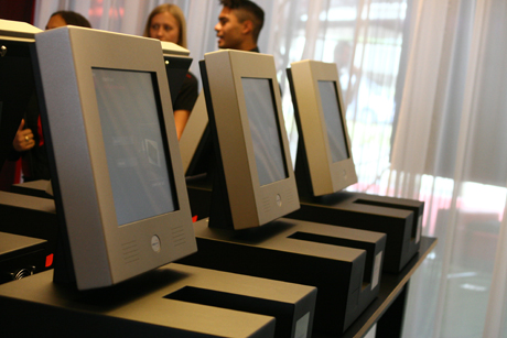 CitizenM Check In Screens
