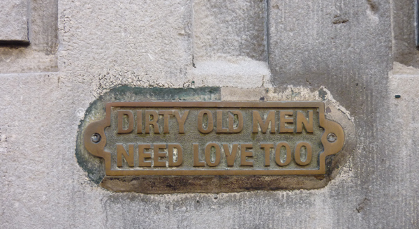 Dirty Old Man Need Love Too