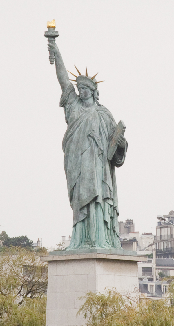 Paris Replica of the Statue of Liberty