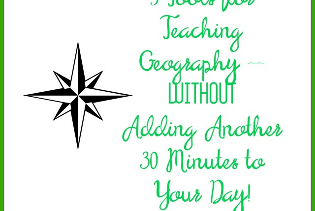 Five tools for teaching geography without a curriculum