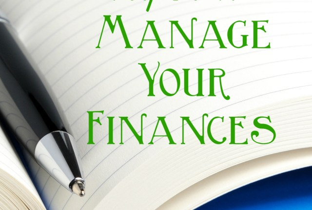 using pen & paper to manage your finances