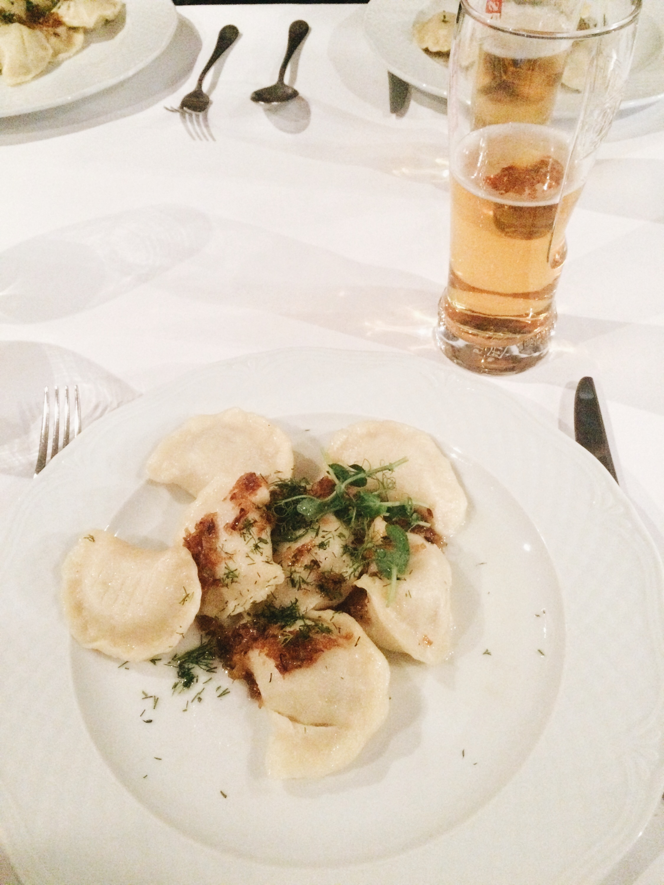 Pierogies in Poland