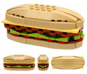 Lego burger