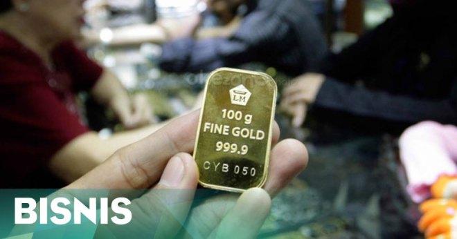 Awal pekan harga emas antam naik ke 548000