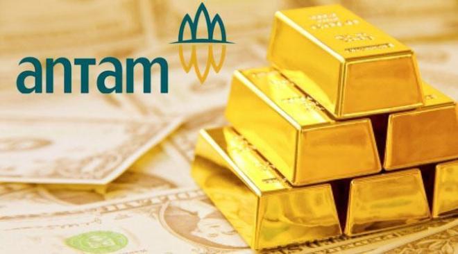 Harga emas Antam naik 9000