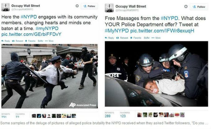 nypd twitter backfires badly