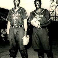 Satchel Paige And Goose Tatum, Harlem Stars Negro League, 1962