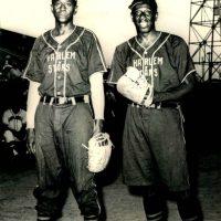 Satchel Paige And Goose Tatum, Harlem Stars Negro League, 1962