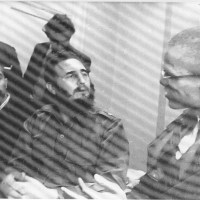 Fidel Castro And Malcolm X At The Hotel Theresa, 1960