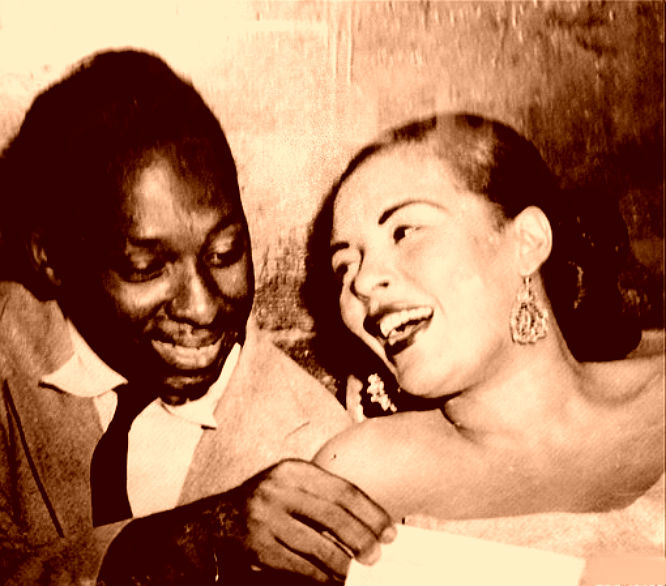 Apollo Theaters Bob Anderson And Billie Holiday 1940s